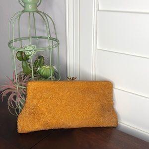 Walborg Micro Beaded Copper/Bronze Bag